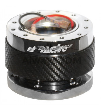 Carbon Snap Off steering hub