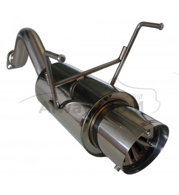 rear muffler SRS G55 Civic...
