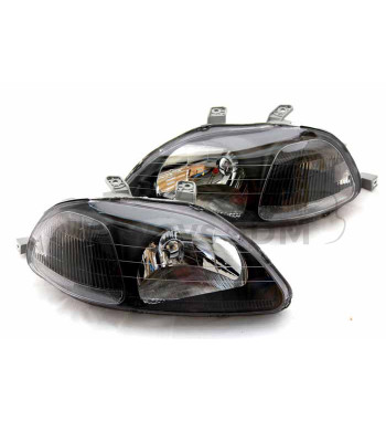 Blackhousing Headlights Civic