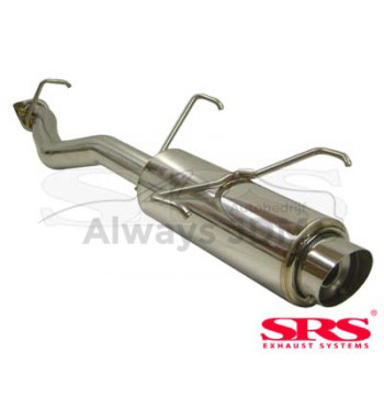 rear muffler SRS G50 Prelude