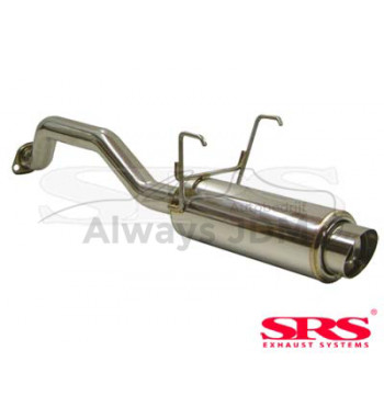 rear muffler SRS G50 Civic