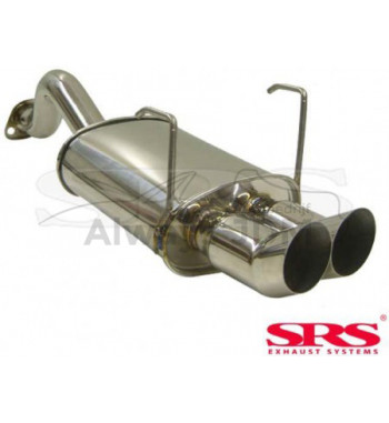 Rear muffler SRS DTM Civic...