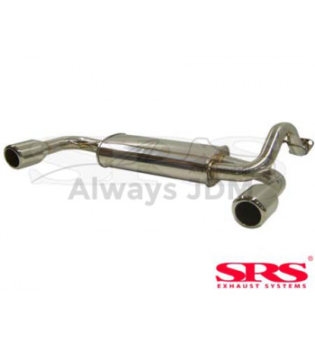 Rear muffler SRS Double SS...