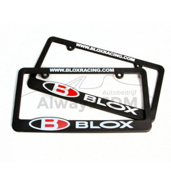 BLOX License plate holder...