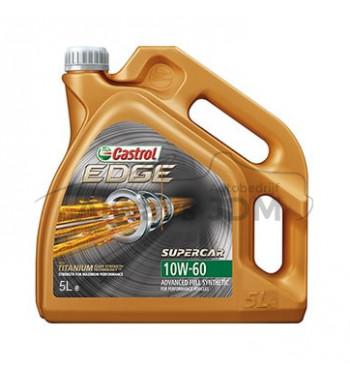 Castrol 10w60 Edge Supercar 5L