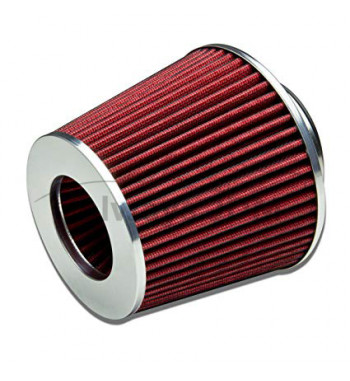 2.5'' Air filter red universal