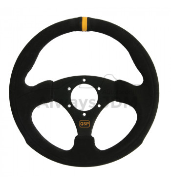 QSP Suede Sport steering wheel