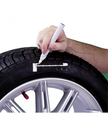 Tire marker