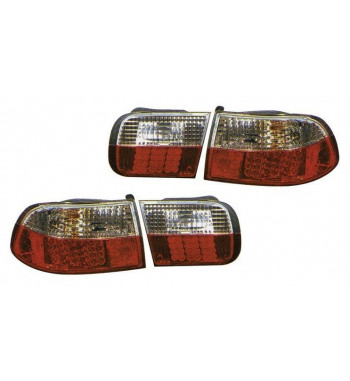 Clear LED Tail lights Civic