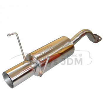 rear muffler Civic