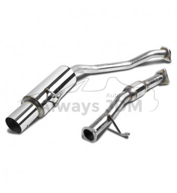 Stainless steel Cat Back S2000