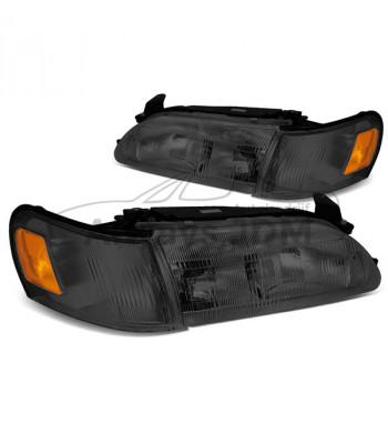 Smoked headlights Corolla
