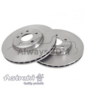 Ashuki brake discs front...