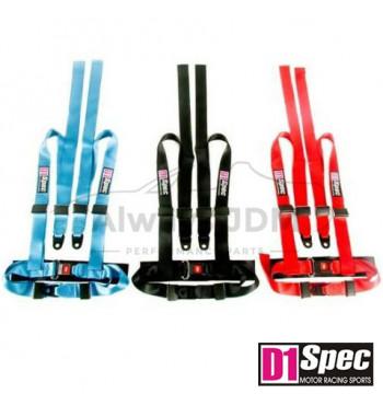 D1 spec 4 point belt