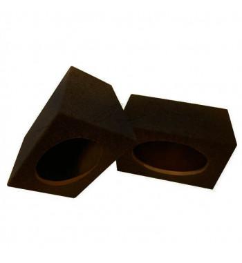 MDF speaker box 2x 6x9