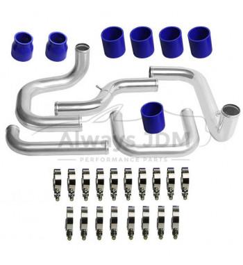 2.5'' piping kit blue Civic...
