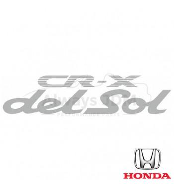 Rear Logo sticker CR-X Del Sol