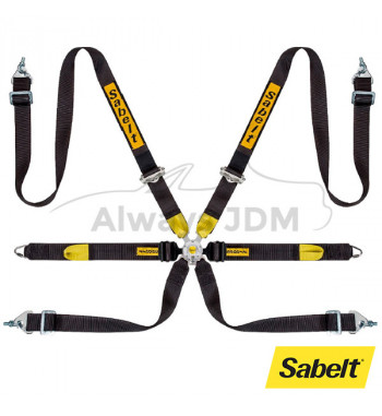 6-point seat belt GT Anti...