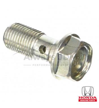 Brake line caliper bolt Honda