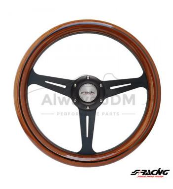 Wooden sports steering...