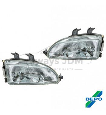 OEM headlight Honda Civic Depo