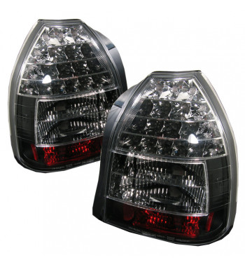 Black LED Tail lights Civic