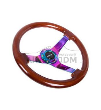 NRG Wood Sport steering...