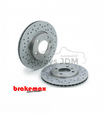Brakemax brake discs front...