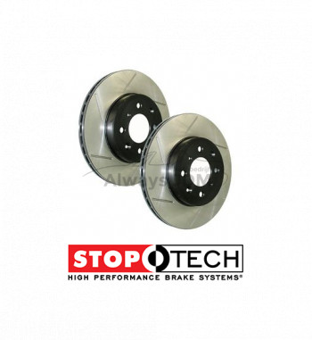 Stoptech brake discs front...