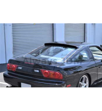 Rear window spoiler S13