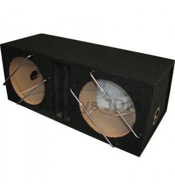 MDF Subwoofer box 2x12''