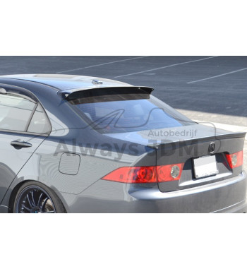 Rear window spoiler Accord