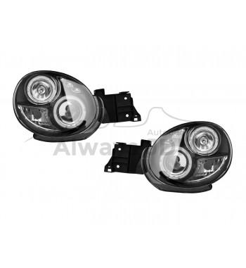 Blackhousing headlights...