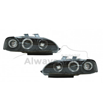 Angle eye headlights Civic