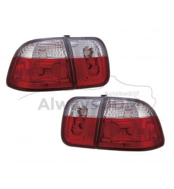 Clear Tail lights Civic Sedan