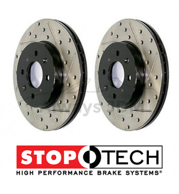 Stoptech Brake discs rear IS