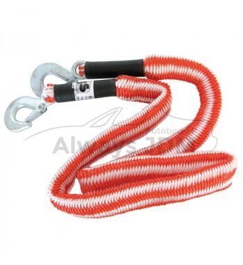 Elastic tow rope
