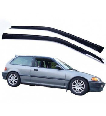 Window visors Civic