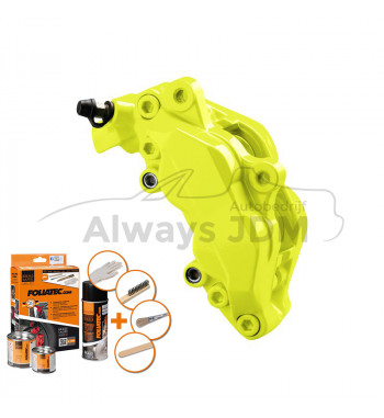 Yellow NEON Caliper paint
