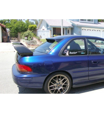 Rear window spoiler Impreza