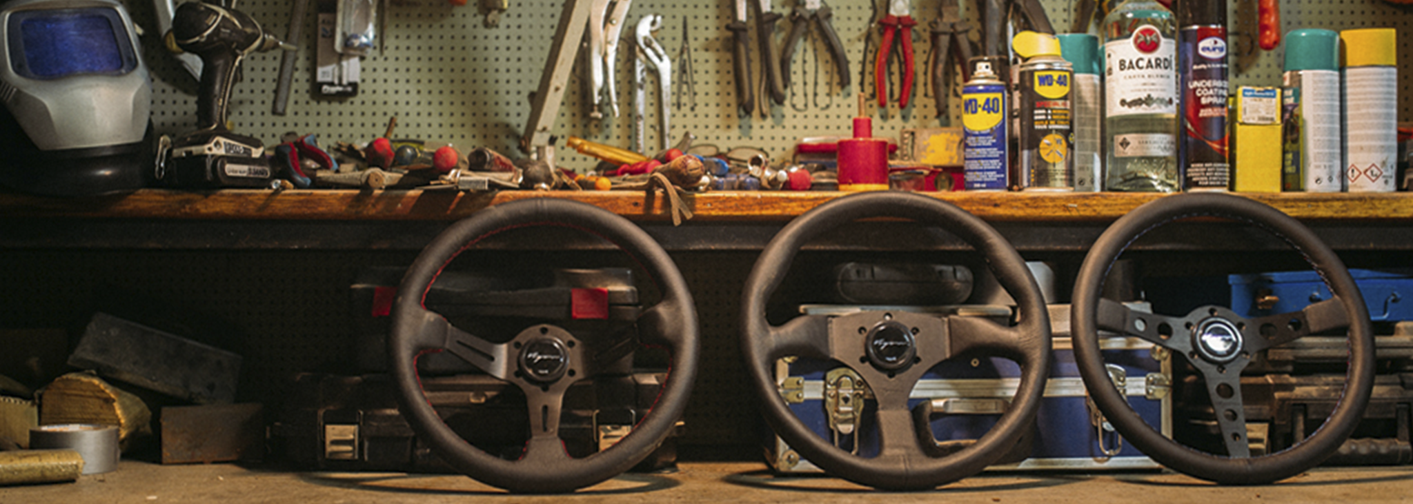 Vigor Steering wheels